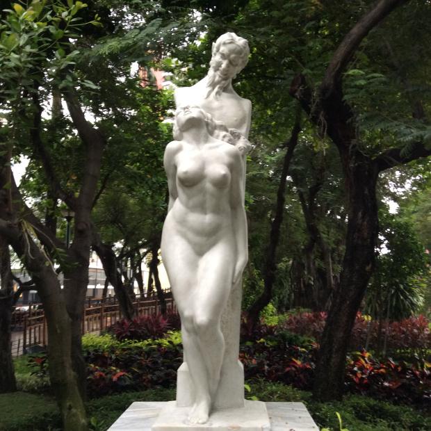 Statue in Malecon