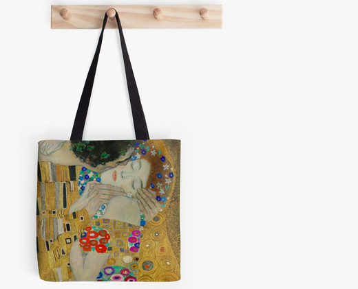 Klimt The Kiss Tote bag Christa Wojo