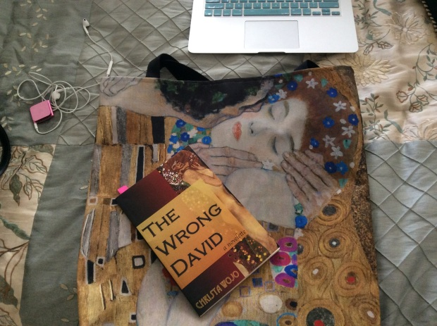 The Wrong David with Klimt Tote