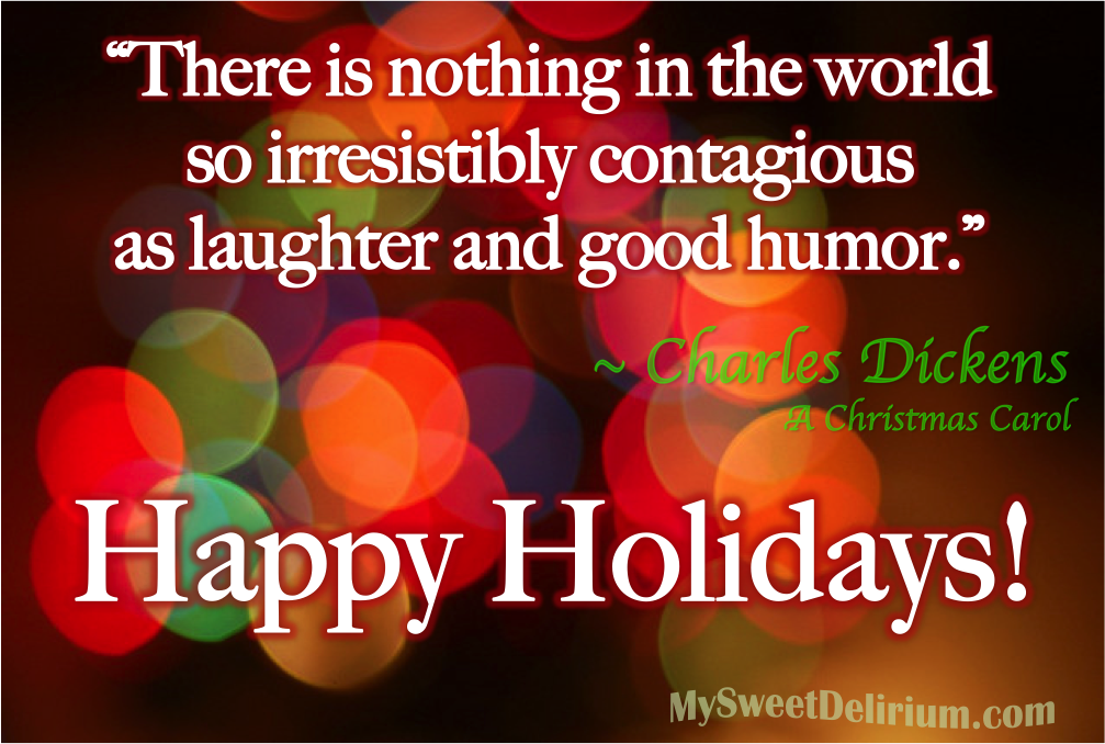 Great Quote From A Christmas Carol By Charles Dickens