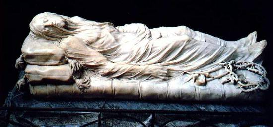 The Veiled Christ Front View