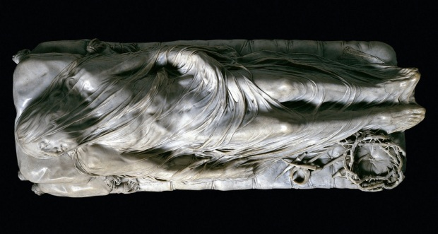 The Veiled Christ Giuseppe Sanmartino Cappella Sansevero, Naples.
