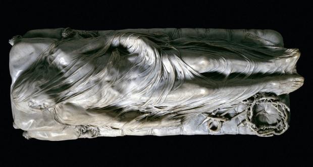 The Veiled Christ Giuseppe Sanmartino Cappella Sansevero, Naples.
