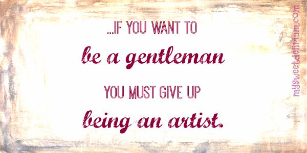 William Somerset Maugham Quote Artists