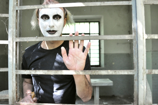 Crazy man mime My Sweet Delirium