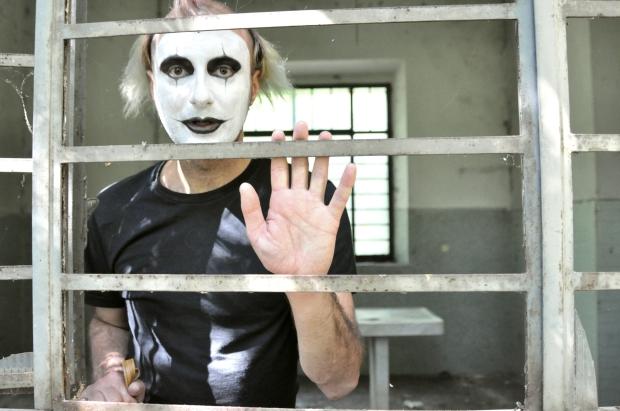 Crazy man mime My Sweet Delirium
