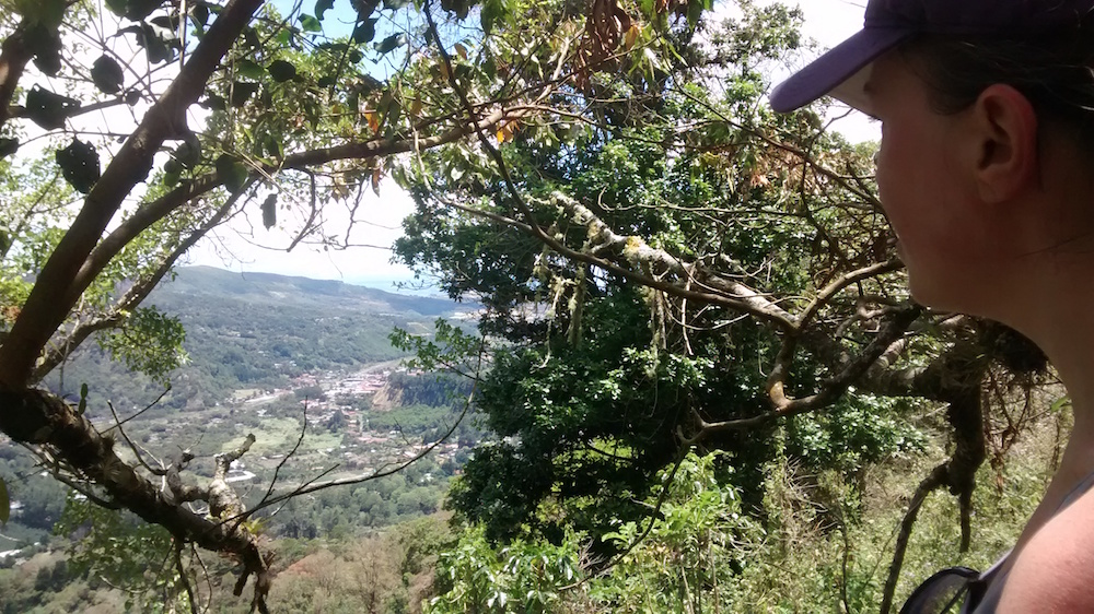 Christa Wojo Piedra de Lino hike